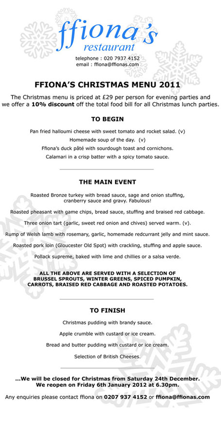 Ffionas_Christmas_menu_2011