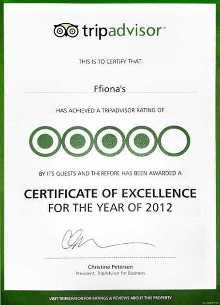 Ffionas_tripadvisor_award_2012